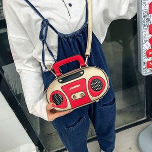 Wholesale Ins cute spring and summer new funny personality bag female diagonal cross shoulder creative funny retro recorder1