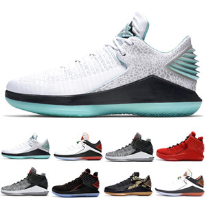 Wholesale mvp basketball shoe for sale - Group buy Finale XXXII Boardroom Mens Basketball Shoes Men s Jade Camo Bred Like Mike MVP Rosso Corsa Gatorade Black Cat Sports Sneakers