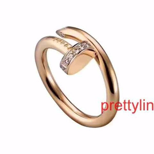 Wholesale New Top Certificate Wedding Silver Color Engagement Diamond Ring Women Gifts Luxury Original Logo Gift Box Rings Jewelry