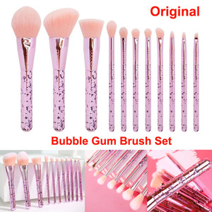 Wholesale bubble gums resale online - Makeup Brushes Set Docolor Bubble Gum Makeup Brush Highlight Concealer Foundation Powder Blending Blush Eyes Face Cosmetic brushes