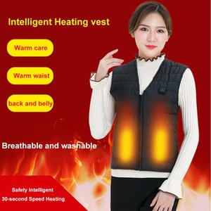 Wholesale USB Infrared Heating Vest Jacket Flexible Electric Thermal Clothing Waistcoat Men Women Outdoor Winter For Sports Hiking
