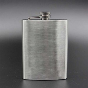Wholesale Hot sales oz Hip Flask Set Stainless Steel Hip Flask With Funnel Drinking Cup Portable Hip Flask for Whiskey Liquor Wine KC1013