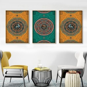 Wholesale Vintage Poster Nordic Celebrity Pattern Animals Paintings For Living Room Wall Art Canvas Pictures Home Decoration No Frame