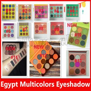 Wholesale New Zulu Eyeshadow Palette styles magic nubian EyeShadow Palette Cleopatra eyeshadow Shimmery Pearl Swatches DHL