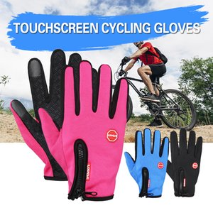 Wholesale Lixada Touchscreen Cycling Gloves Windproof Winter Outdoor Sports Bike Riding Gloves Hand Warmers Skiing Motorcycle Racing