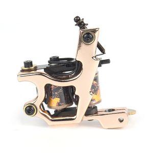Imp gold Alloy tattoo machine High Quality coil Tattoo Machine for liner Shader Body Art Gun Makeup Tool