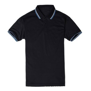 Wholesale New Summer Shirt Men Polo Brand Leisure Designer T Shirt For Men Shorts Sleeve Polyester Solid Casual Loose Sport Clothing S-4XL