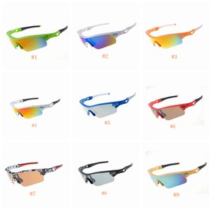 Wholesale Cycling Fashion Sunglasses Outdoor Racing Sports Glasses Sunglasse Brand Half Frame Sunglasses Goggle Colors ZZA631
