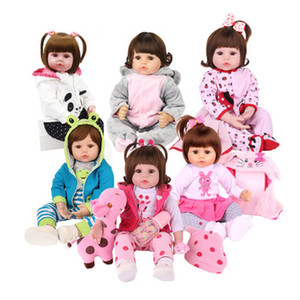 Wholesale silicone dolls body for sale - Group buy Baby toy reborn lifelike real doll full body silicone water proof bath toy popular hot selling reborn toddler baby dolls soft touch
