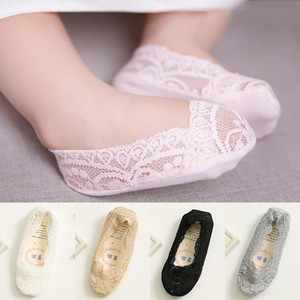 Wholesale jojo shoes for sale - Group buy Newborn Cute Baby Floor Anti skid Boat Socks Kawaii Baby Floral Lace For Baby Girls Kids B Girls Shoes Socken Summer