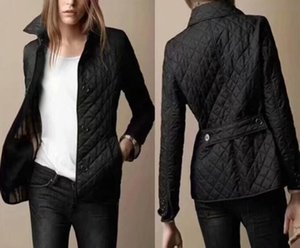 New Classic!women fashion england short style thin cotton padded jacket brand designer slim short jacket for women size S-XXL #19011