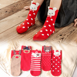 Wholesale Christmas Socks Baby Children Men and Women Halloween Autumn Winter Cotton Floor Socks Tube Cartoon