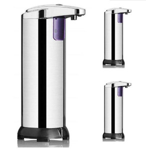 Automatic Sensor Soap Dispenser Liquid Soap Dispensers Stainless Steel Free Wash Machine Portable Motion Activated Dispenser