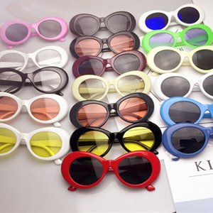 Wholesale Fashion Punk Rock Shades Colors Retro Men Driving Camping Round Eyewear Woman Vintage Travel Oval Sunglasses TTA1140