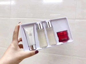 Wholesale Japan Brand Skincare Sets Facial treatment cleanser g clear lotion ml essence ml R N A Powder face cream g