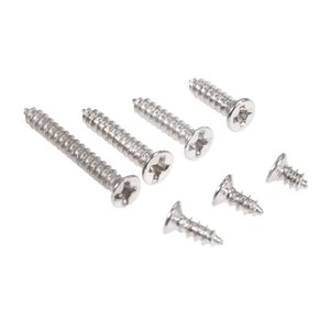 self tapping screw DRELD 100pcs lot M2 Alloy Steel Phillips Screws Countersunk Flat Head Self Tapping Wood Screw Bolts M2 x4 5 6 8 12mm 16mm on Sale