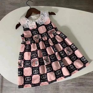 new fashion kids girls  sleeveless children girls clothing outfit