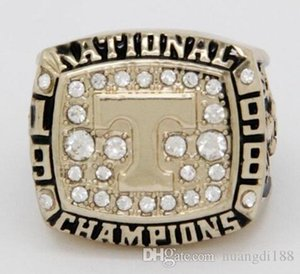 Wholesale real fine Tennessee University Champion Ring championship ring Men rings