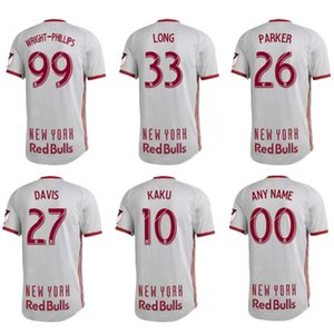 Wholesale 2019 NEW YORK Soccer Jersey HENRY WRIGHT PHILLIPS WRIGHT PHILLIPS Football Shirts Mens MLS Home Football Uniforms Sports Tops