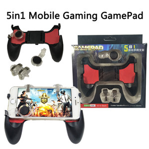 Wholesale game controller joystick accessories S4 eat chicken artifact games survival handle pad button under inch for cellphone ios android