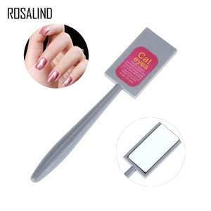Wholesale magical sticks resale online - ROSALIND PC Cat Eye D Magnet Stick Nail Art Gel Nail Polish Drawing Magical Manicure Tool Magnetic Stick Need UV LED lamp