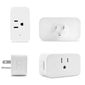 Smart Wifi Sockets Wireless Switch Round US Plugs APP Remote Control Socket Outlet Timing Switch for Smartphones Android IOS Home Automation on Sale