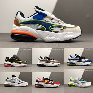 Wholesale cell shoes for sale - Group buy 2020 new CELL Venom Radiant Venom Retro Black White Blue Red Sports Casual Shoes Men Sports Dad Sneakers Running Shoes Shoe size