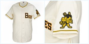 Wholesale Salt Lake Bees Home Jersey Any Player or Number Stitch Sewn All Stitched High Quality Baseball Jerseys