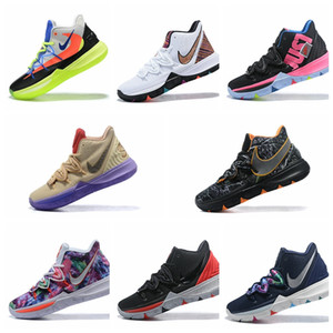 Wholesale 2019 New Kids basketball shoes Kyrie s Irving Infant fashion Boys Girls Athletic Outdoor Designer sports sneakers