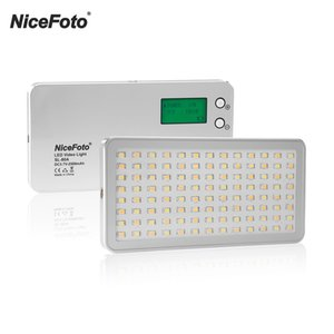 Wholesale NiceFoto SL A K K Pocket LED Video Light Photographic Fill Light Built in Battery for Still Life Live Show Interview
