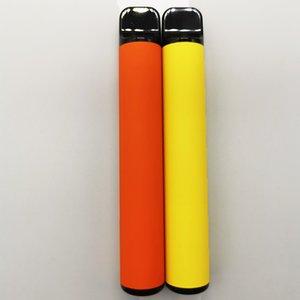 3.2ml Carts 800 puffs Disposable Vape Pen 16 colors Custom Black Packaging Box E-cigarette Kits Empty Vaporizer 550mah Battery Security Code