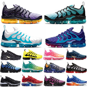 Wholesale 2020 New Regency Purple Active Fuchsia Megatron TN Plus Running Shoes Spirit Teal GRAPE Geometric Lemon Lime Fashion Mens women sneakers