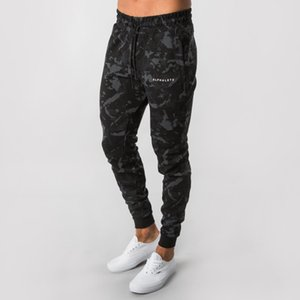New Men Running Pants Camouflage Jogging Pants Men Sweatpants Gym Workout Slim Fit Trousers Jogger Skinny Pencil