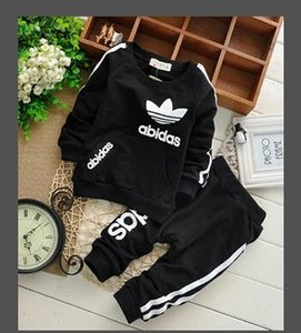 sleeved shirt fashion loose sports suit casual hoodie warm sweater baby clothes summer short-sleeved T-shirt V ` on Sale