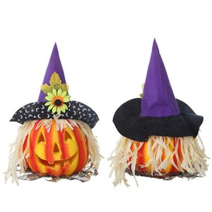 Wholesale Funny Cute Halloween Decoration Simulation Bubble Cosplay Party Pumpkin Night Light Festival Supplies Kids Gift