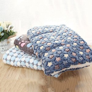 Soft Flannel Pet Mat Dog Bed Winter Thicken Warm Cat Dog Blanket Puppy Sleeping Cover Towel Cushion For Small Medium Large Dogs C19021301 on Sale