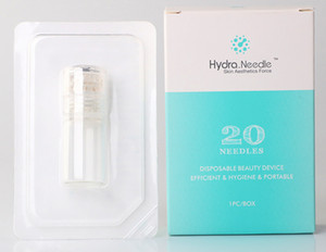 Automatic Hydra Needle 20 bottle Aqua Micro Channel Mesotherapy Gold Needle Fine Touch System derma stamp