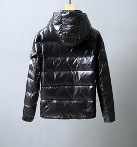 Wholesale Monclers Men s Designer Winter Jacket Winter New Luxury Bubble Jacket High Quality Business Black Brand Coat Large Size Down Jacket