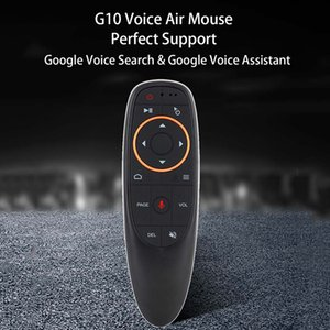 NEW VONTAR G10 Voice Remote Control 2.4G Wireless Air Mouse Microphone Gyroscope IR Learning for Android tv box T9 H96 Max X96