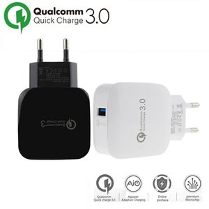 Wholesale Quick Charge W Travel Wall Fast Charger USB Fast Cable Xiaomi Direct Chargers For iphoneX XS Samsung Huawei usb wall charger