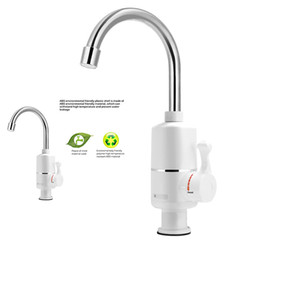Wholesale Instant Tankless Electric Hot Water Heater Faucet Kitchen Instant Heating Tap Water Heater With LED EU Plug