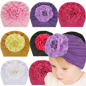 Kids Girls Indian Hats Infant Baby Flower cotton Caps Kids Solid Outdoor Slouchy Beanies Skull Caps Toddler Gifts