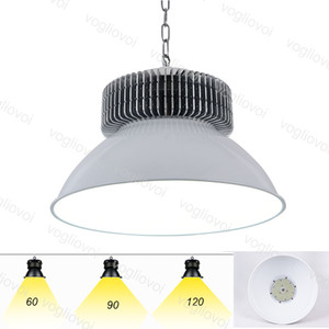 Led High Bay Lights 80RA SMD3030 50W 100W 150W 200W Industrial Lighting Grey 120° Cover Aluminium Radiator Warehouse Garage Workshop DHL