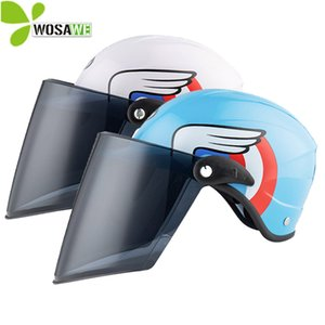 Wholesale Cycling Safety Kids Helmets Child Scooter Snowboard Motorbike Bicycle Bike Windproof Sunscreen Visor Riding Caps Head Protection