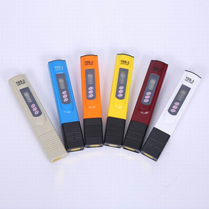 Wholesale Digital TDS Meter Monitor TEMP PPM Tester Pen LCD Meters Stick Water Purity Monitors Mini Filter Hydroponic Testers TDS in paper box