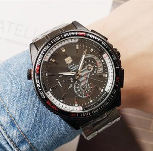 Wholesale Mens designer luxury Watches Stainless Steel Quartz Watch Top All Work Mechanical Watch Full featured sports and leisure couple Wristwatches