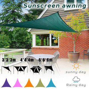 Wholesale Waterproof Triangle Awning Shade Sail Sun Outdoor Waterproof Sun Shade Sail Garden Patio Pool Camping Picnic Tent