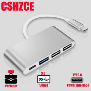 Wholesale Usb Hub With Power Adapter Newest Muti Ports USB Type C USB C multi port Adapter Dongle Dock Cable for Macbook Pro