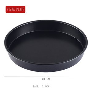 Wholesale 9 inch pizza tray pan cake round mold non stick high grade covered high quality bread plate