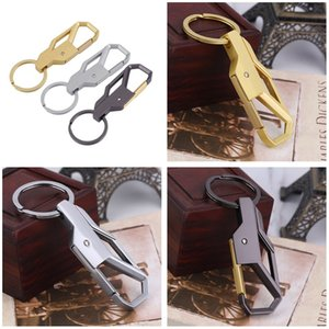 Wholesale Personality Auto Vehicles Accessory Protable Zinc Alloy Car Business Keychain Key Ring For Men Beautiful Gift